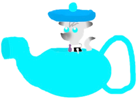 Dr. Wolf in a Teapot by Moralezk