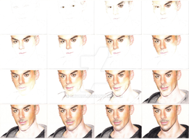 Shannon Leto - Party Monster WIP by shvau4