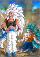 Elcy and Vegetto by Maniaxoi