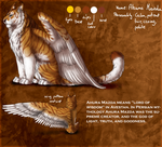 Ahura Mazda refsheet- Frozs father by AFrozenHeart