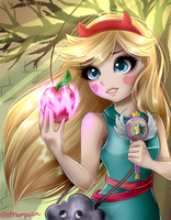 Star Butterfly by DaintyHyacinth