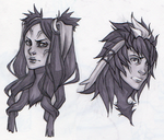 Panne and Yarne by YouAreReadingThis