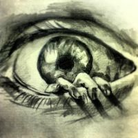 Realistic Eye sketch by Zappy30