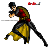 Robin's Ha Do Ken by JuliusC1224
