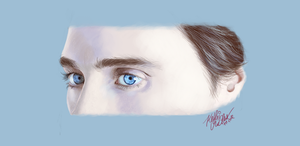 Jared Leto's Eyes by SilkSpectreII