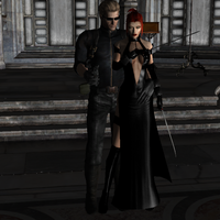 Wesker and Bloodrayne 2 by IamRinoaHeartilly