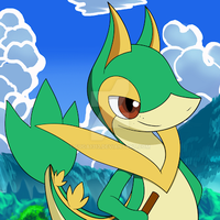 New Snivy evolution by Suga1313