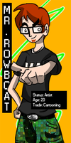 Mr Rowboat as himself by MrRowboat