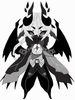 monochromatic spirit adoptable CLOSED by AS-Adoptables