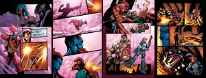 Guardians 3000 issue 3 pages by bennyfuentes