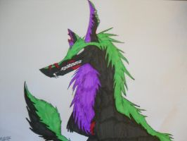 Zombie Wolf by GreenGirl225