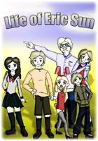 Life of Eric Sun: Cover by XNinjaRed