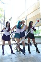 Otakon - Outer Senshi by Shinigami-X