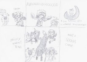 I'm not Lycan this comic by Reinaert