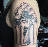 Jesus Cross by hassified