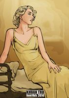 naomi watts fan art 2014 1 by KHUANTRU