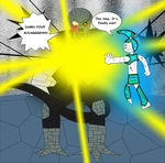 Jenny vs. Big Gete Star Cooler Part 4 by Cyber-murph