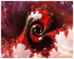 Entwined heart by poca2hontas