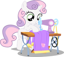 Sweetie Belle:  Costume Designer by seahawk270