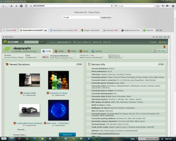 My Internet Browser's Homepage by deeprana94