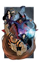 The Super Addams Family by thecreatorhd