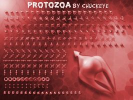 Protozoa-Red by GrynayS
