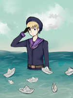 Paper Boats by paper-army