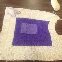 WIP 10 stitch blanket by songsforever