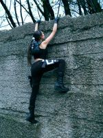 Lara Croft - obstacle by TanyaCroft