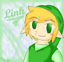 Toon Link. by SparxPunx