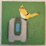 mini painting: Bastion by VIcTobious