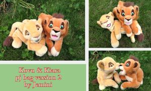 Jemini Kovu and Kiara pj case version 2 by Laurel-Lion