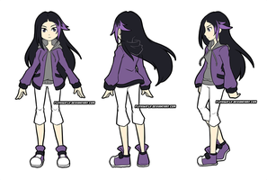 Brooke TurnAround Reference by FlyKiwiFly