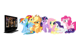 Mane 7 Reaction to Royal Rumble 2015 by DigitBrony