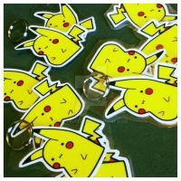 Pikachu Keychains by MySirJelly