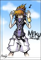 Neku Sakuraba by LightningGuy