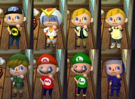 Meine ACNL Outfits by FZone96