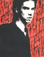 Nick Cave by SSkyborg
