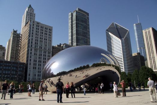 Chicago Bean by thejessicablack