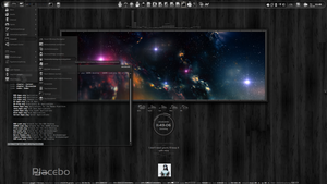 SilentNight-Spaceview by LaGaDesk