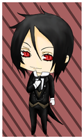 .: The Black Butler :. by SpookytheKitsune