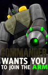 Arm Commander Propaganda by Mastastealth