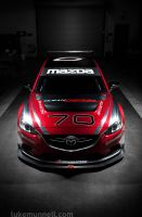 #70 Mazda/SpeedSource SKYACTIV-D Race Car, Front| by LukeMunnell