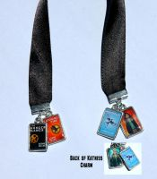 Hunger Games Trilogy Bookmark by englishteach