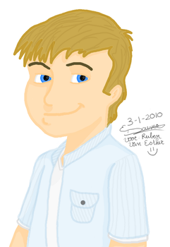 Cartoon - Ruben Elshof by xPrincEstherr