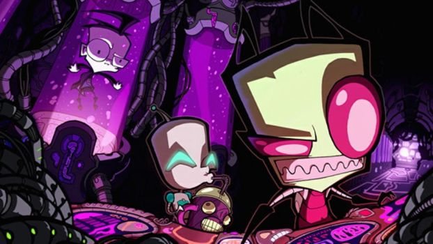 Invader Zim! by HeyArnoldfan7734