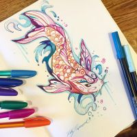 292- Butterfly Koi by Lucky978