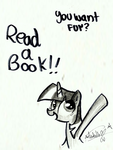 Read a book! for Kindle by SlyFoxCl