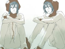 Hito and Futo by Oriental-Lady