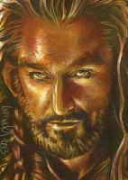 Thorin Oakenshield Sketch Card by JeffLafferty